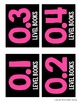 EDITABLE Accelerated Reader Library Labels {Black Series}