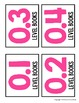 EDITABLE Accelerated Reader Library Labels {White Series}