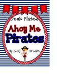 {EDITABLE} Ahoy Me Pirates Name Plates