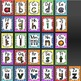 EDITABLE Alphabet and Ten Frame Posters in Bold Colors and