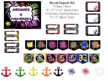 [EDITABLE] {Anchor & Fireworks} BTS BASICS