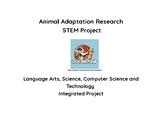 EDITABLE Animal Adaptation Research Computer Science Integ