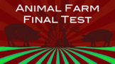 EDITABLE Animal Farm Test - 100 Question w/ Answer Key (Scantron)