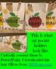 EDITABLE Apple Themed Classroom Jobs (Pocket Holders)