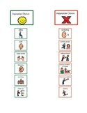 EDITABLE - Appropriate/Inappropriate Choices Chart - Stude