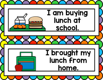 EDITABLE Attendance and Lunch Check-In Chart