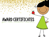 EDITABLE Award Certificates
