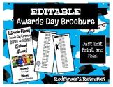 Awards Day Brochure - EDITABLE