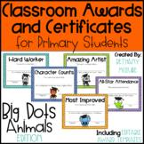 EDITABLE Awards and Certificates | Classroom Awards - Grad