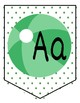 EDITABLE: BEACH BALL BANNER (alphabet, colors, signs)