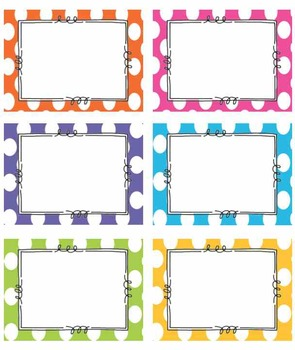 Modest image in free printable classroom labels