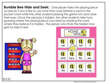 EDITABLE BUNDLE - Hide and Seek Sight Words