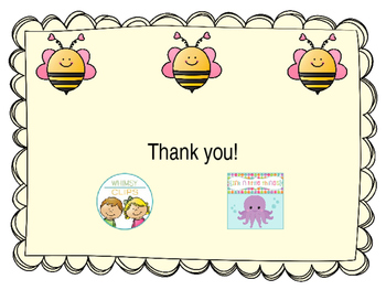 EDITABLE Bee Papers