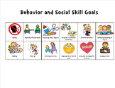 EDITABLE Behavior Clip Chart, Sheets, Goal Setting ***BUNDLE***