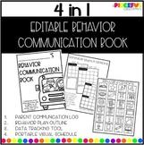 EDITABLE Behavior Communication Book