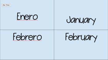 EDITABLE Bilingual Number & Month Games! - 3 in 1.