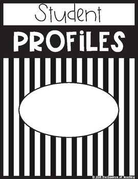 EDITABLE Binder Covers & Spines (Black/White Referee Sports Theme)