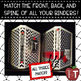 EDITABLE Binder Covers and Spines {Black, White, and Red}