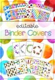 EDITABLE Binder & Spine Covers Growing Bundle