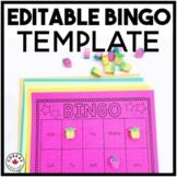 Bingo Templates | EDITABLE