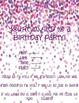 **EDITABLE** Birthday party invitations