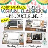 EDITABLE Rustic Farmhouse Classroom Template BUNDLE - Dist
