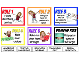 EDITABLE Bitmoji Whole Brain Teaching Classroom Rules