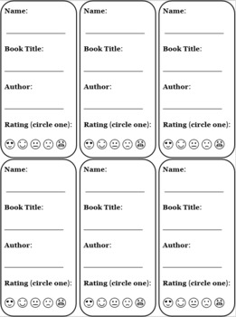 EDITABLE Bookmarks! Great Gift for Students!