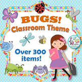 Bugs Classroom Themes Bugs and Insects Classroom Decor