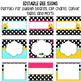 EDITABLE Bulletin Board Kit (Signs, Borders, and Bee Name Tags) Bees and Blooms