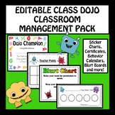 EDITABLE CLASS DOJO CLASSROOM MANAGEMENT PACK FOR THE YEAR