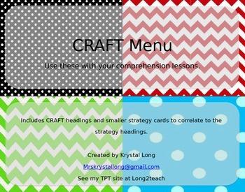 EDITABLE CRAFT/ CAFE Board-Isabella Classroom Theme