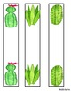 Cactus Themed Binder Labels EDITABLE