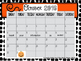 EDITABLE Calendars for the 2016-2017 School Year: Color &
