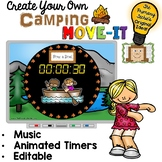 EDITABLE Camping Move It - Brain Breaks