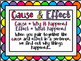 EDITABLE Cause & Effect Task Cards Version2 with Cooperati