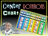 EDITABLE Center Rotations Chart
