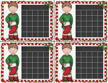 EDITABLE Christmas Incentive Sticker Charts {Blacklines Included}