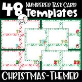 EDITABLE Christmas Task Card Templates for PERSONAL & COMM