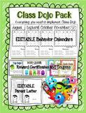 EDITABLE Class Dojo Pack