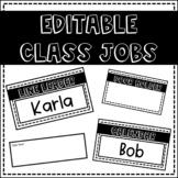EDITABLE Class Jobs!