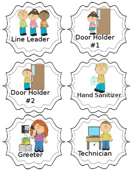 EDITABLE Class Jobs with cute graphics and fun jobs that make your life easier  sc 1 st  Teachers Pay Teachers & EDITABLE Class Jobs with cute graphics and fun jobs that make your ...
