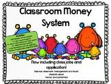 EDITABLE Class Money System BUNDLE!  Economics/Money/Math/Behavior Management