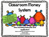 EDITABLE Class Money System BUNDLE!  Economics/Money/Math/