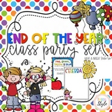 EDITABLE End of the Year Class Party Invitations