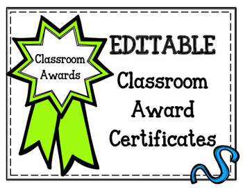 editable classroom award certificates awards most by pray love and
