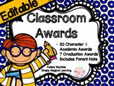 EDITABLE Classroom Awards