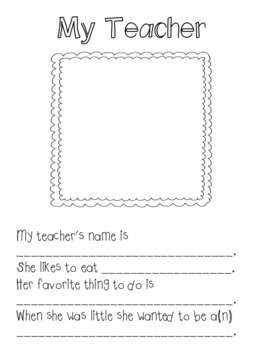 EDITABLE Classroom Friends Booklet
