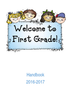 EDITABLE Classroom Handbook