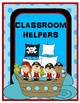 EDITABLE Classroom Helpers Pirate & Ocean Theme
